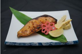 716. GRILLED COD WITH MISO SAUCE