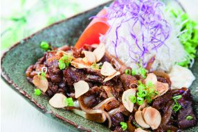 709. STIR FRIED AMERICAN BEEF WITH STAMINA